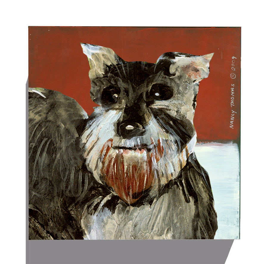Rejected By Facebook Gallery Grand - Dog Face - Schnauzer