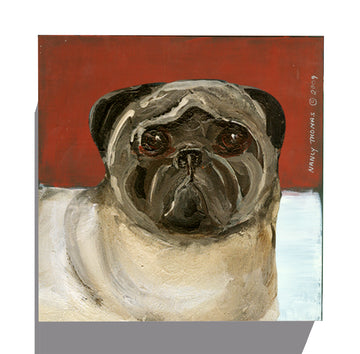 Gallery Grand - Dog Face - Pug