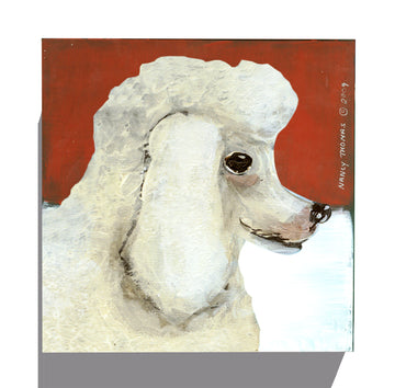 Gallery Grand - Dog Face - Poodle