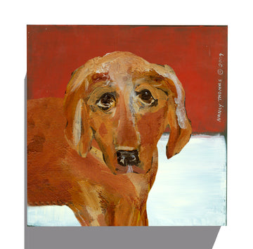 Gallery Grand - Dog Face - Golden Retriever