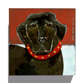 Gallery Grand - Dog Face - Black Lab