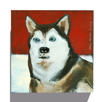 Gallery Grand - Dog Face - Husky