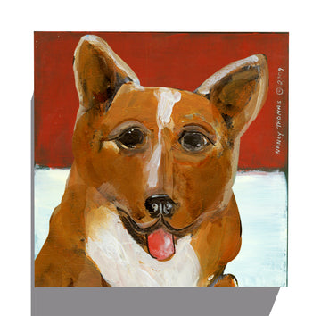 Gallery Grand - Dog Face - Corgi