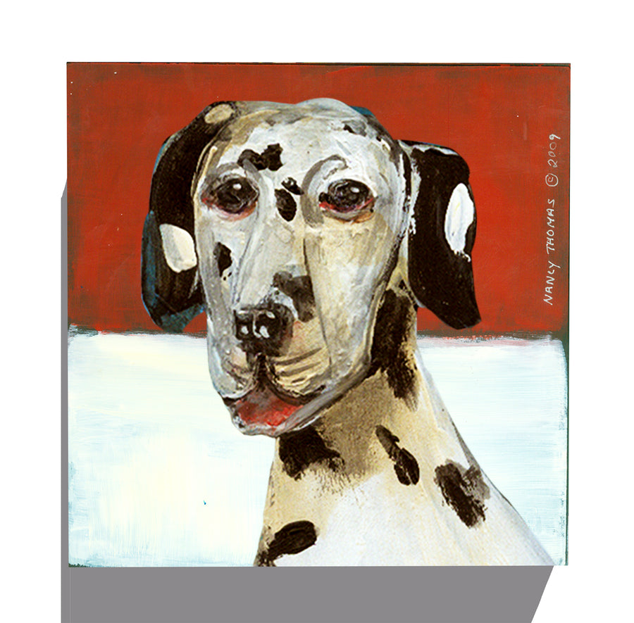 Gallery Canvas - Dog Face - Dalmatian