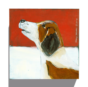 Gallery Canvas - Dog Face - Beagle