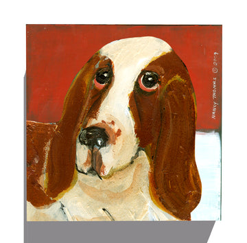 Gallery Grand - Dog Face - Basset Hound