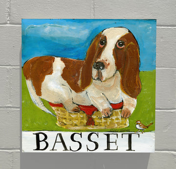 Gallery Grand - Doggie - Basset Hound