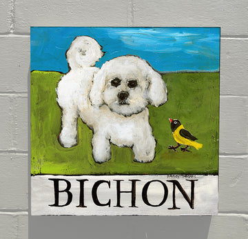 Gallery Canvas - Doggie - Bichon