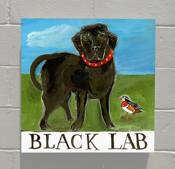 Gallery Canvas - Doggie - Black Lab