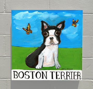 Gallery Canvas - Doggie - Boston Terrier