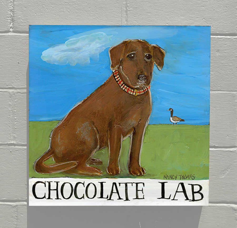 Gallery Canvas - Doggie - Chocolate Lab