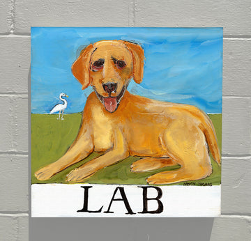 Gallery Canvas - Doggie - Yellow Lab
