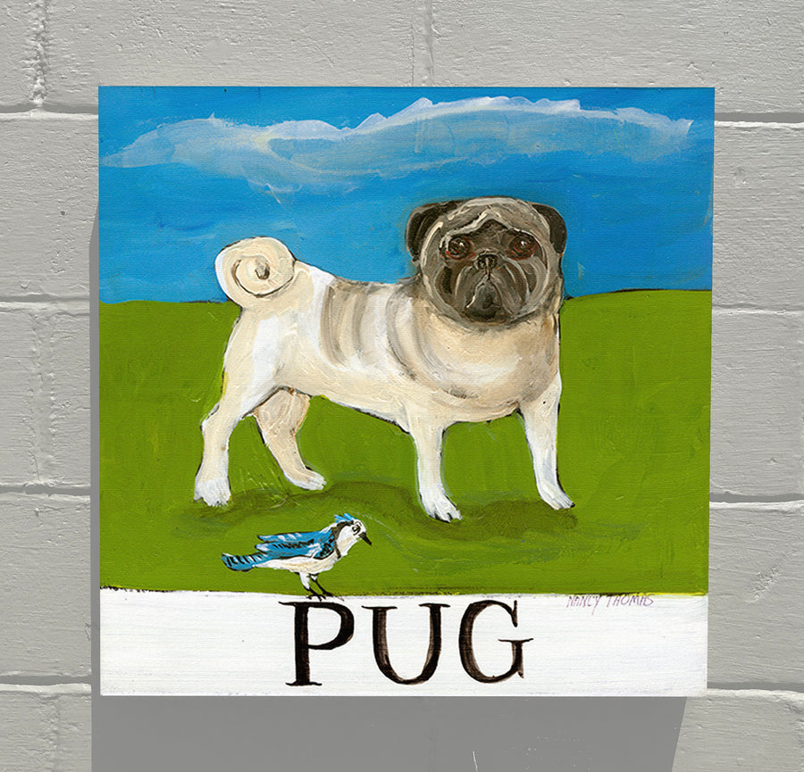 Gallery Canvas - Doggie - Pug