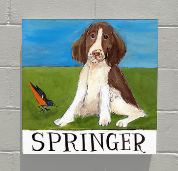 Gallery Canvas - Doggie - Springer Spaniel