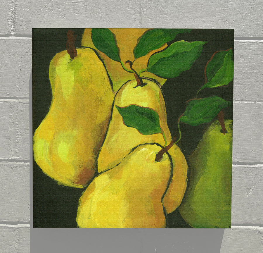 Gallery Canvas - FRUITS & VEGGIES ~ PEAR