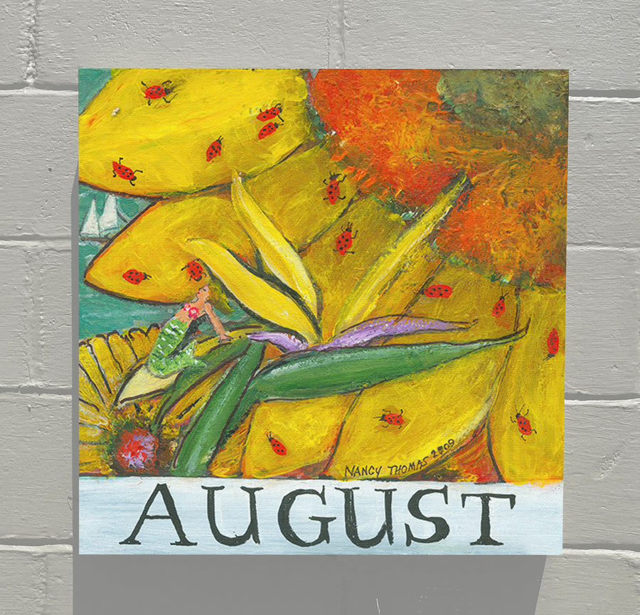 Gallery Canvas - August - Floral Series