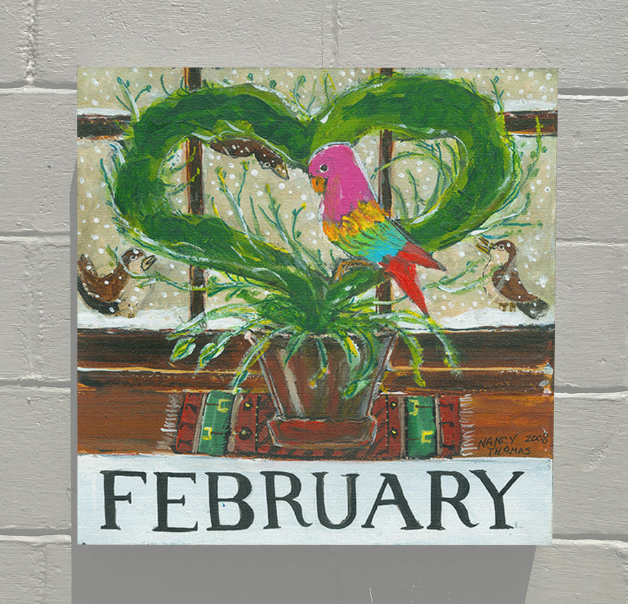 Gallery Canvas - February - Floral Month Series