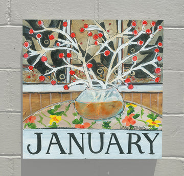 Gallery Canvas - January - Floral Series