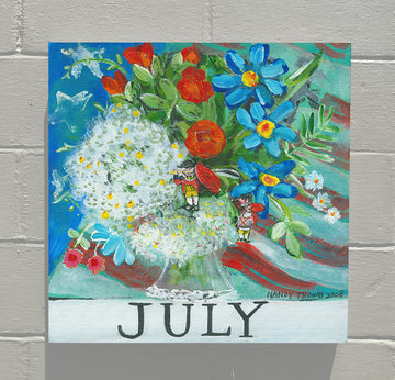 Gallery Canvas - July - Floral Series