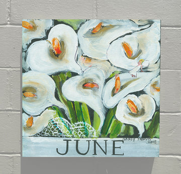 Gallery Canvas - June - Floral Series