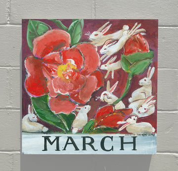Gallery Canvas - March - Floral Series