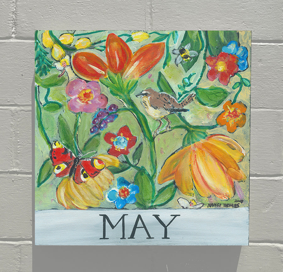 Gallery Canvas - May - Floral Series