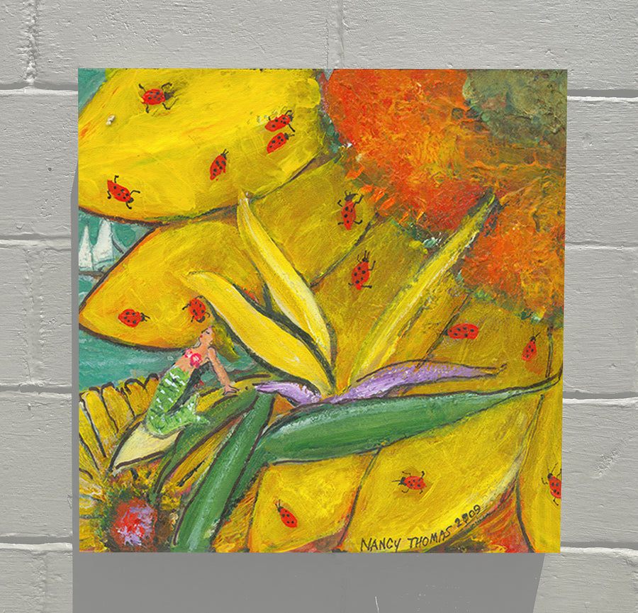 Gallery Canvas - August Floral - No Month