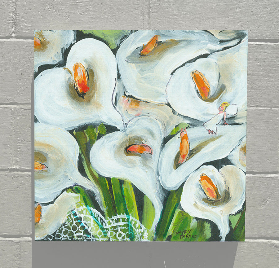 Gallery Canvas - June Floral - No Month -