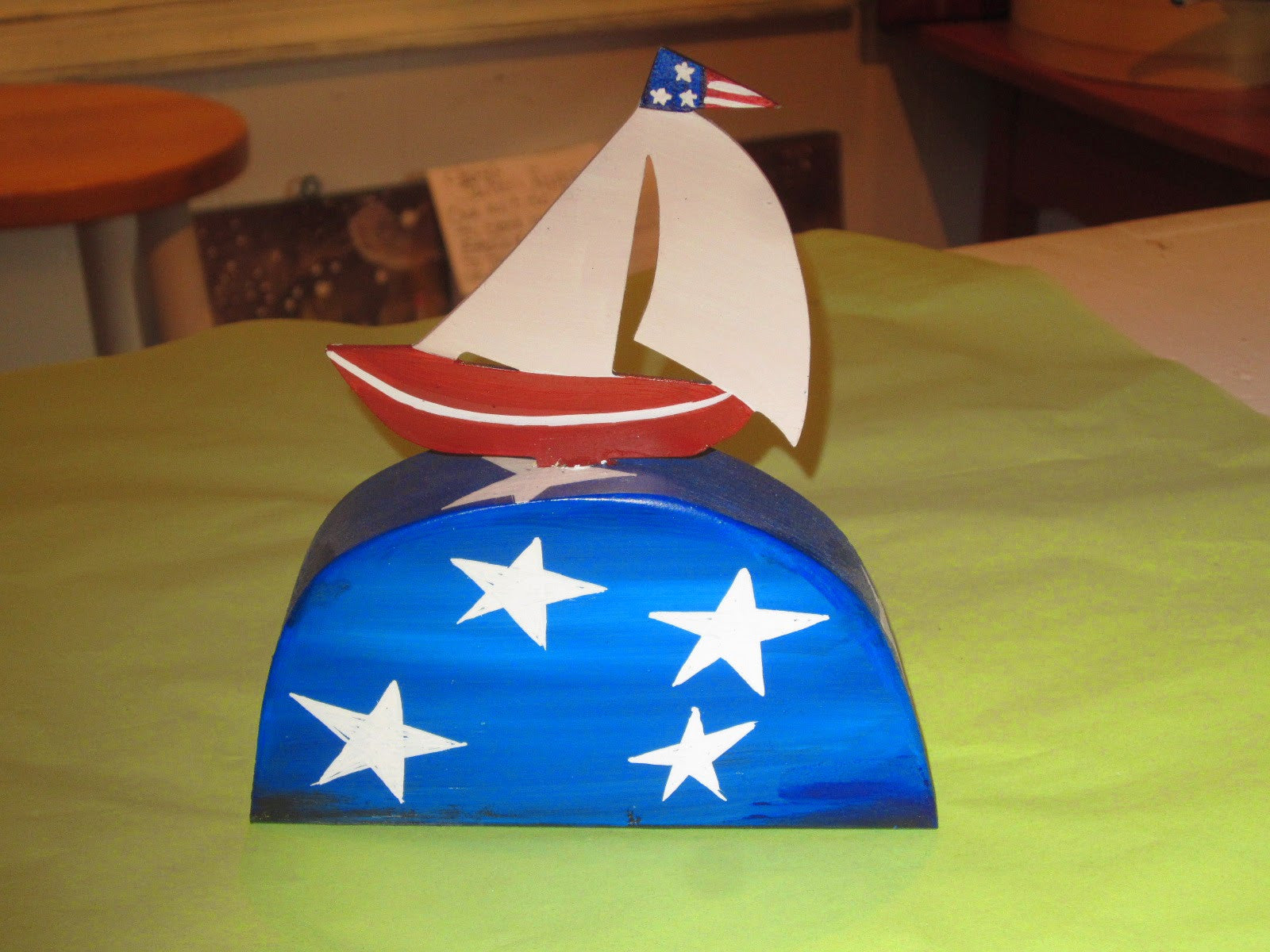 Sailboat Table Topper