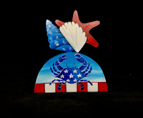 Patriotic Starfish Table Topper - ONLY 2 LEFT