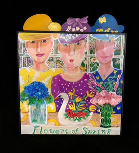 FLOWERS OF SPRING  - 15x15 PRINT SPECIAL