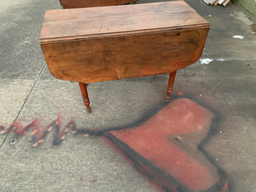 Antique Table 1 - Small New England 1 Drop Leaf