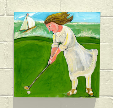 INTERNATIONAL WOMEN'S DAY - GOLFER LADY