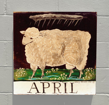 Gallery Canvas - April Lamb - Original Month Series