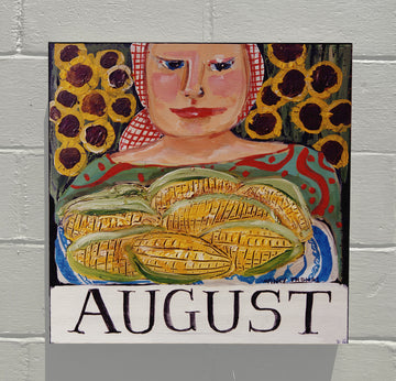 Gallery Grand - August Corn - Original Month Series