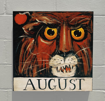 Gallery Grand - August Lion - Original Month Series