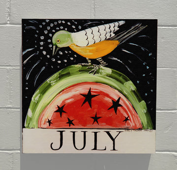 Gallery Canvas - July Watermelon - Original Month Series