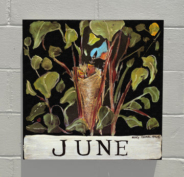 Gallery Canvas - June Nesting - Original Month Series