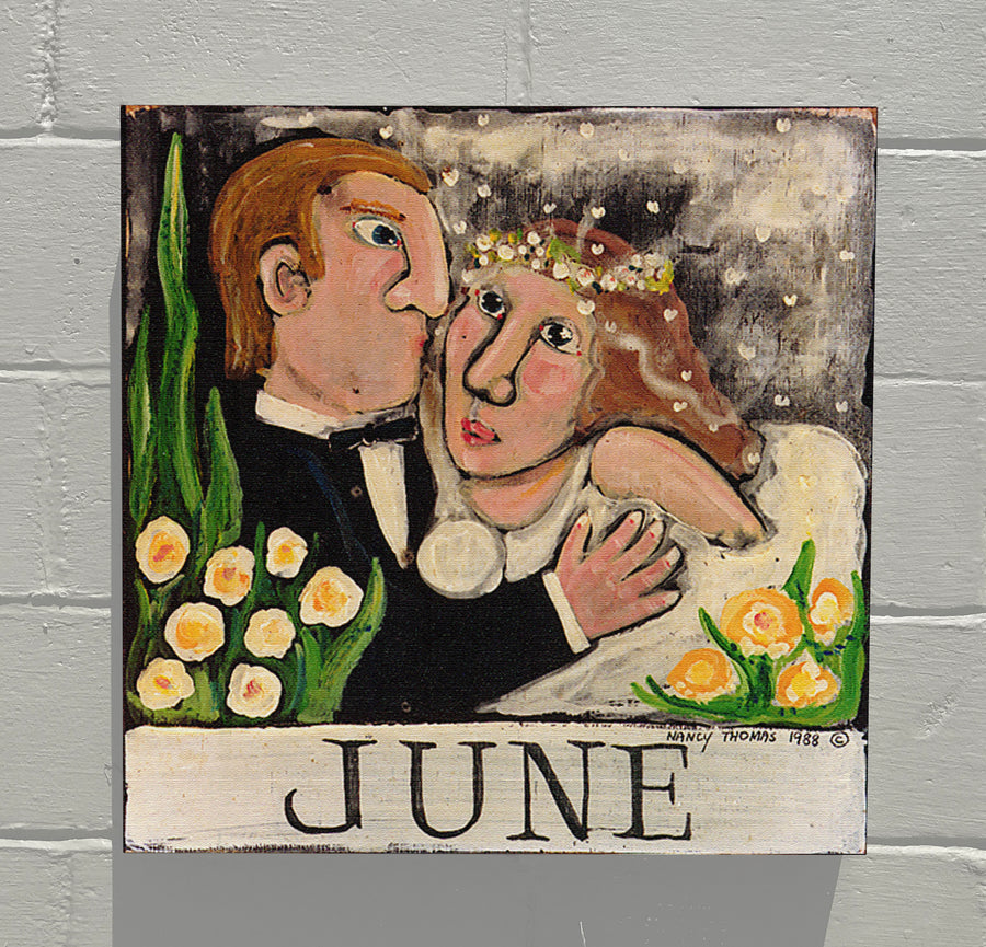 Gallery Canvas - June Wedding - Original Month Series