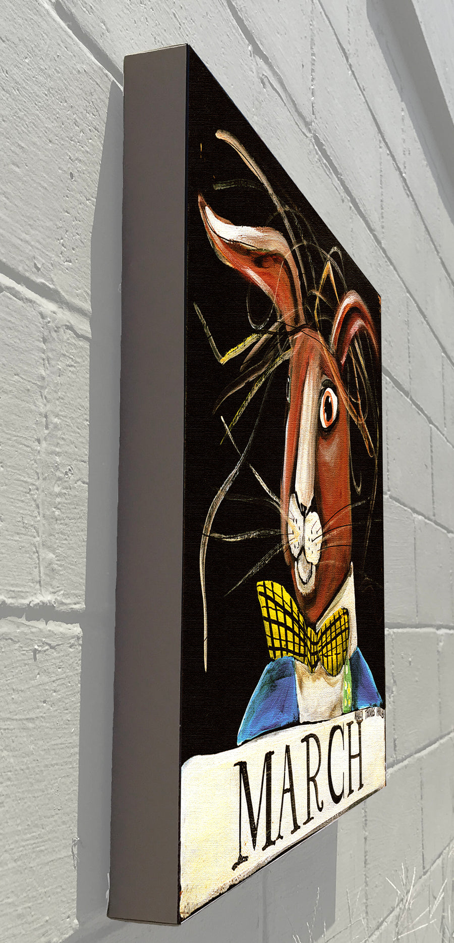 Gallery Canvas - March Hare - Original Month Series