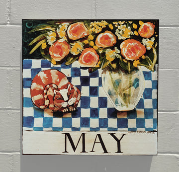 Gallery Canvas - May Cat - Original Month Series