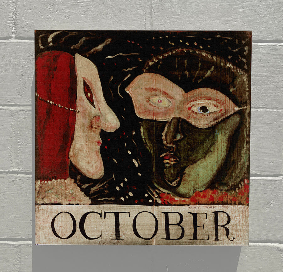 Gallery Canvas - October Masks - Original Month Series