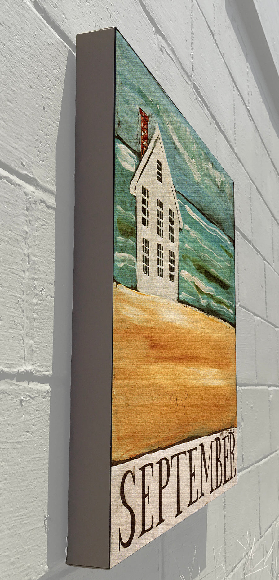 Gallery Canvas - September House - Original Month Series