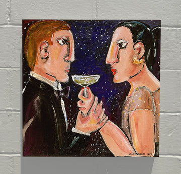 Gallery Canvas - January Toast - Original Series No Month