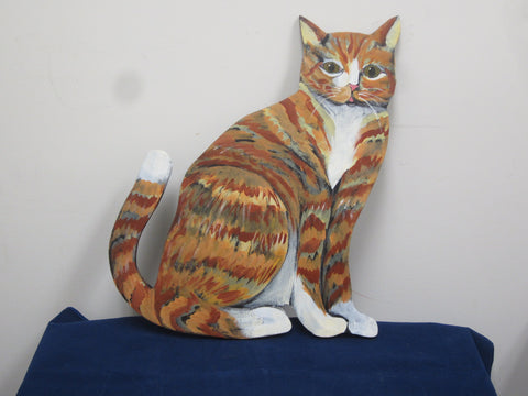 Cat Wall Sculpture
