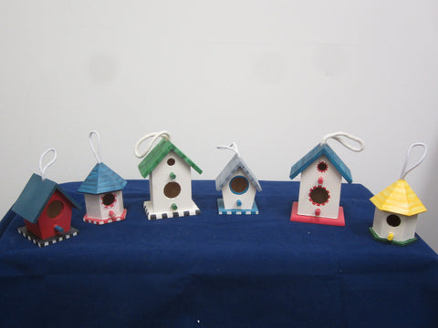 Birdhouse Ornaments