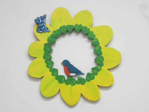 Flower Wreath - Wooden