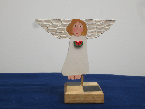 Mini Treetop Angel on Stand