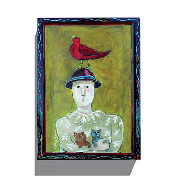 Gallery Grand - Bird on Hat