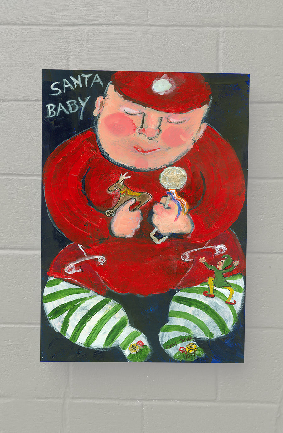 8x11 & 11x14 AVAILABLE NOW! GALLERY GRAND - Santa Baby